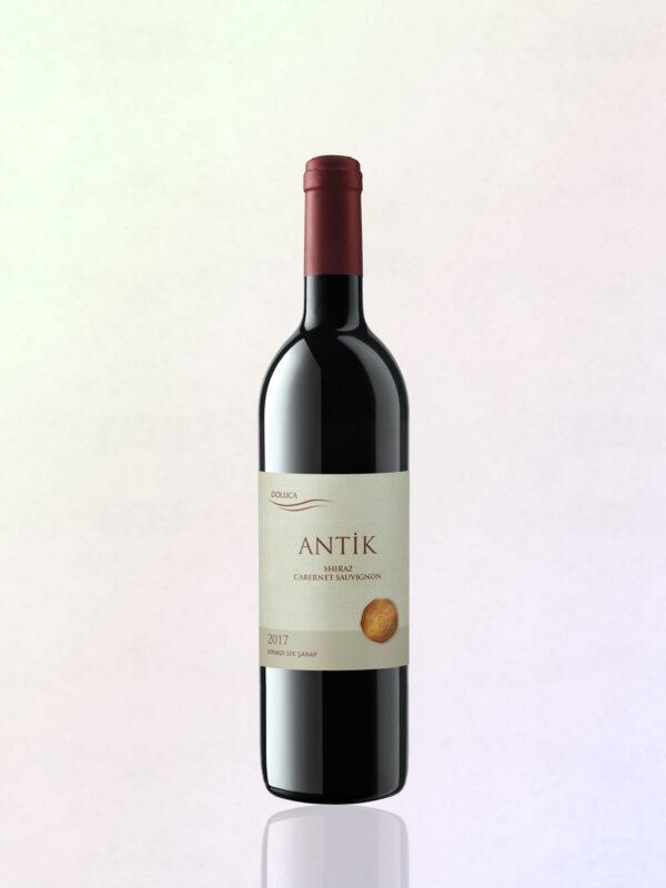 Mundvoll Antik Rot Wein